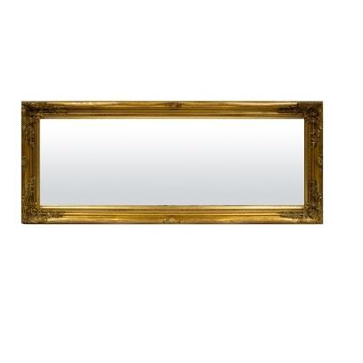 lustro duże złota rama