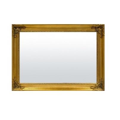 lustro rama złota