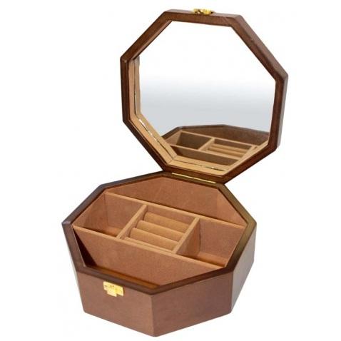 szkatułka na biżuterię i zegarki