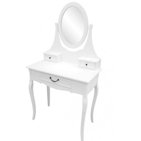 toaletka białą