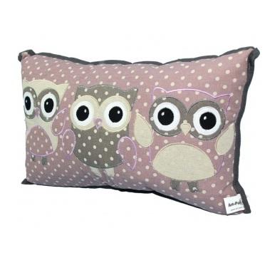 poduszka trzy sowy