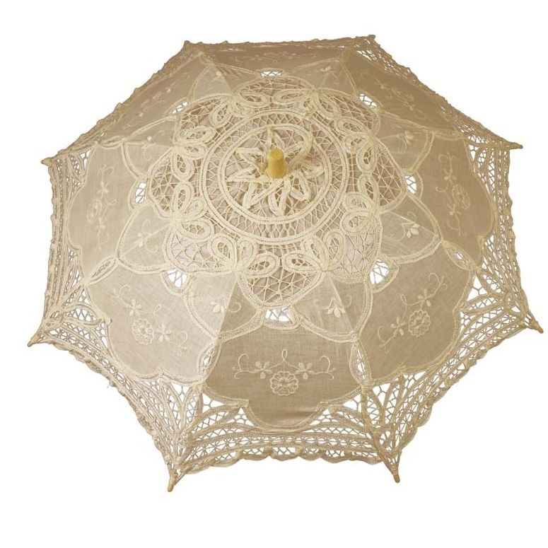 parasolka koronkowa ercu śr.69