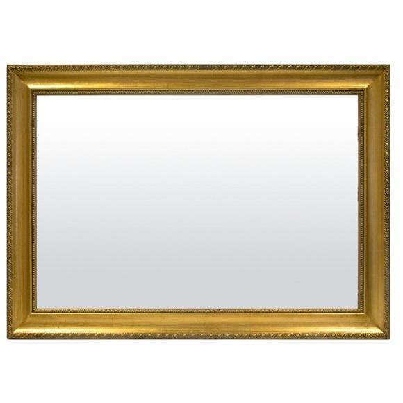 lustro prostokatne złota rama