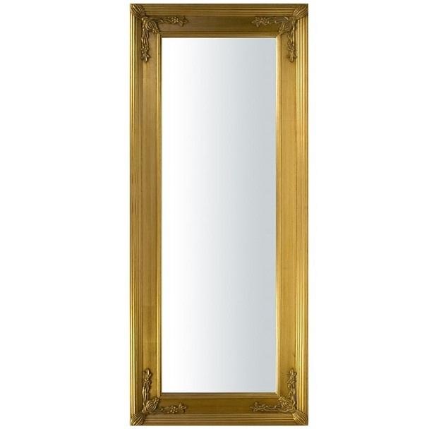 lustro rama złota 140
