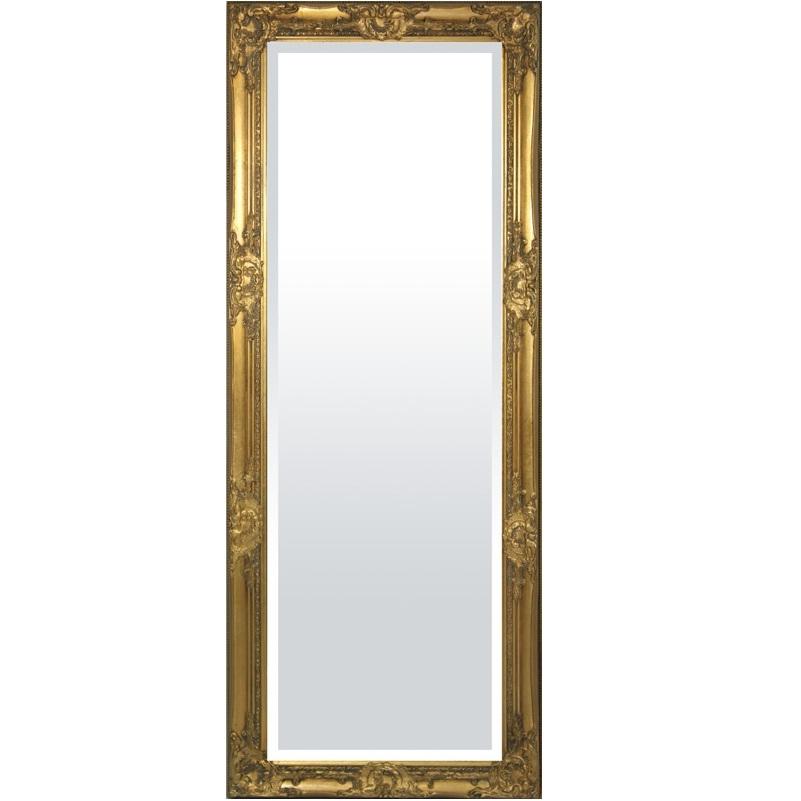 lustro złota rama 132