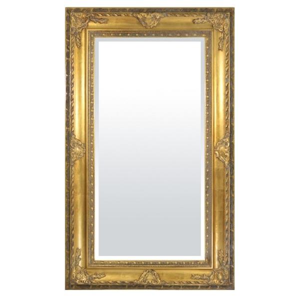 lustro złota rama 150
