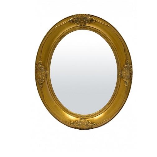 lustro złota rama 56