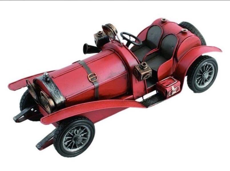 replika auta czerwone