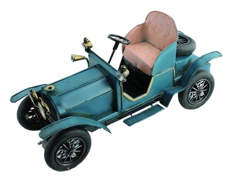 replika auta niebieski