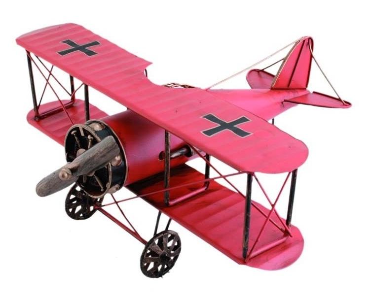 replika samolot czerwony