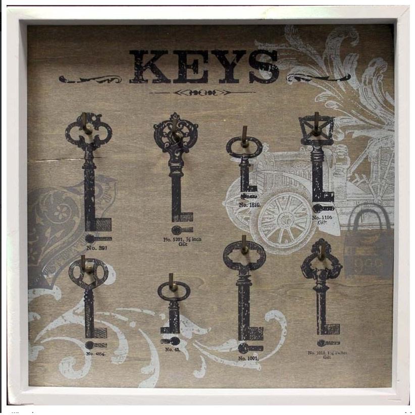 skrzynka wieszak na klucze