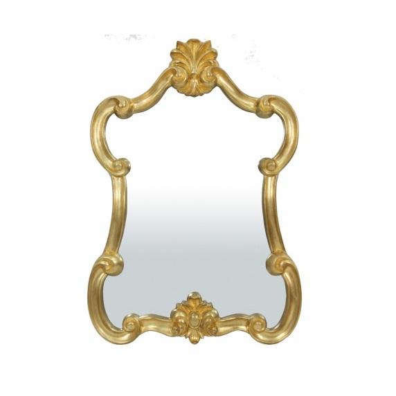 lustro secesyjne złota rama