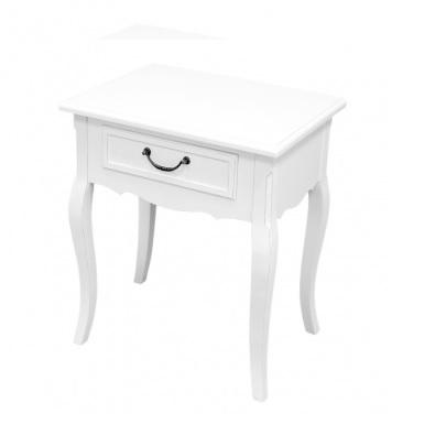 szafka nocna stolik biały