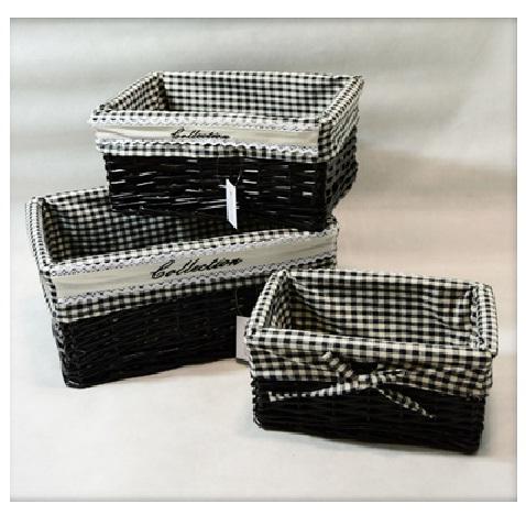 kosz szufldowy prostokątny czarny