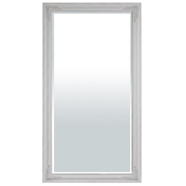 lustro białe prostokatne