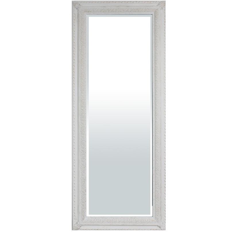 lustro prostokątne białe