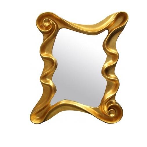 lustro złota rama 122X100
