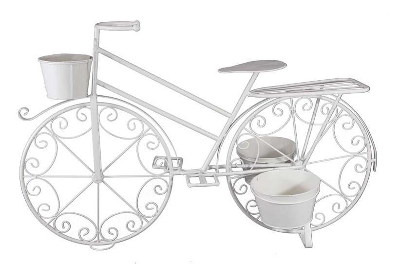 stojak na kwiaty rowerek