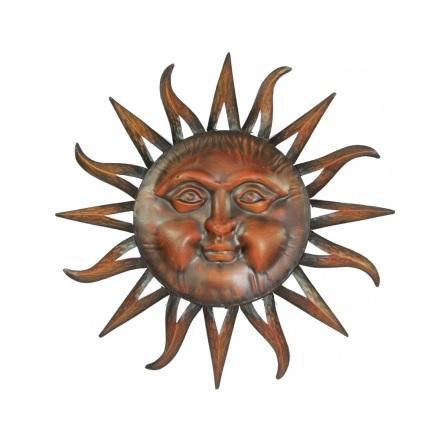 dekoracja słońce