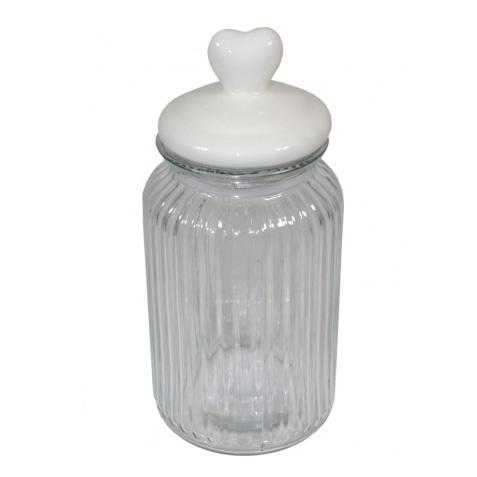 słoik szklany 24,5x11x11