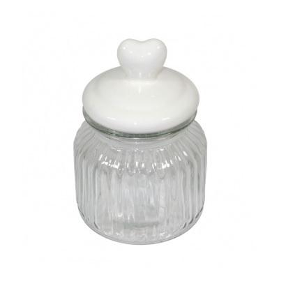słoik z przykrywką ceramiczną