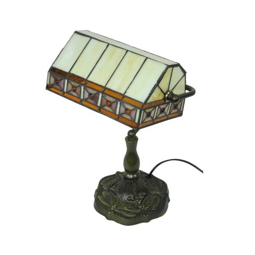 lampa witrażowa gabinetowa