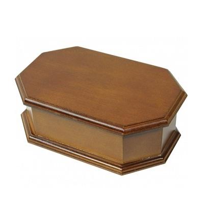szkatułka na biżuterię brązowa
