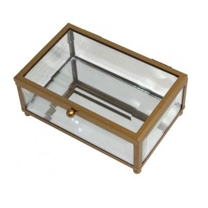 szkatułka szklana mała