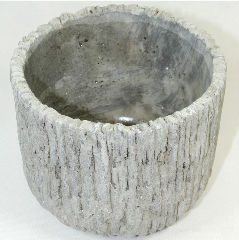 doniczka betonowa stone widok