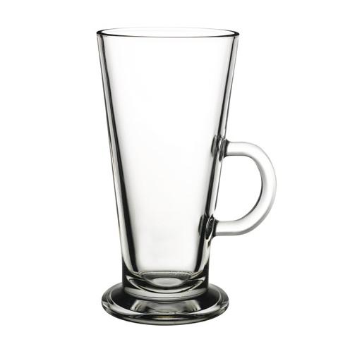 szklanka z uchem do coffe latte