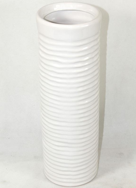 wazon biały widok