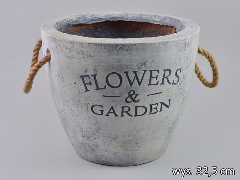 doniczka flowers wysoka