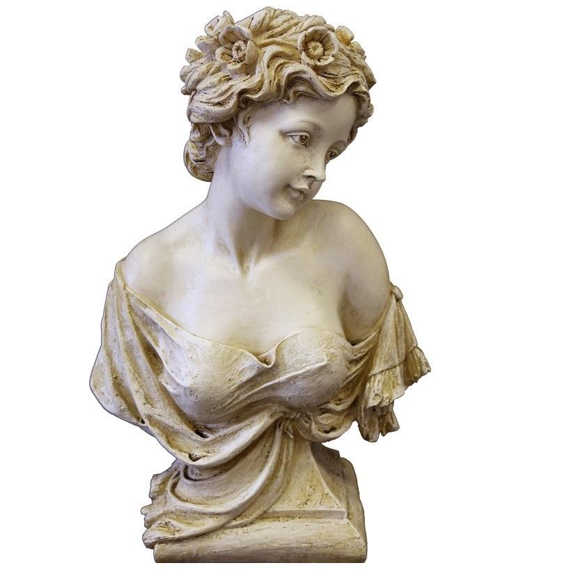 figura ogrodowa dama