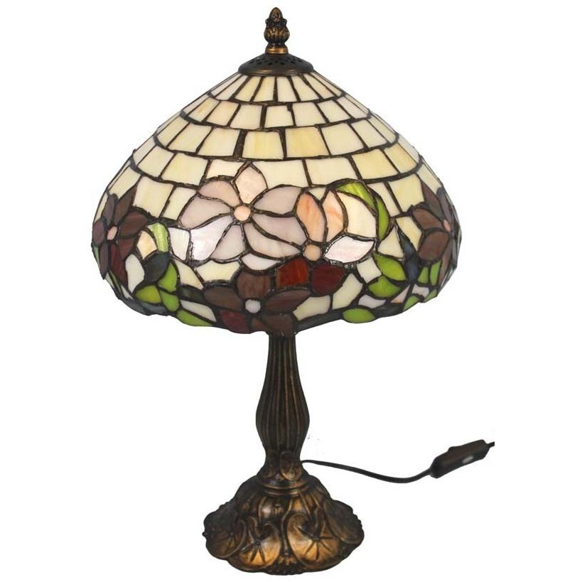 lampa witrażowa mała