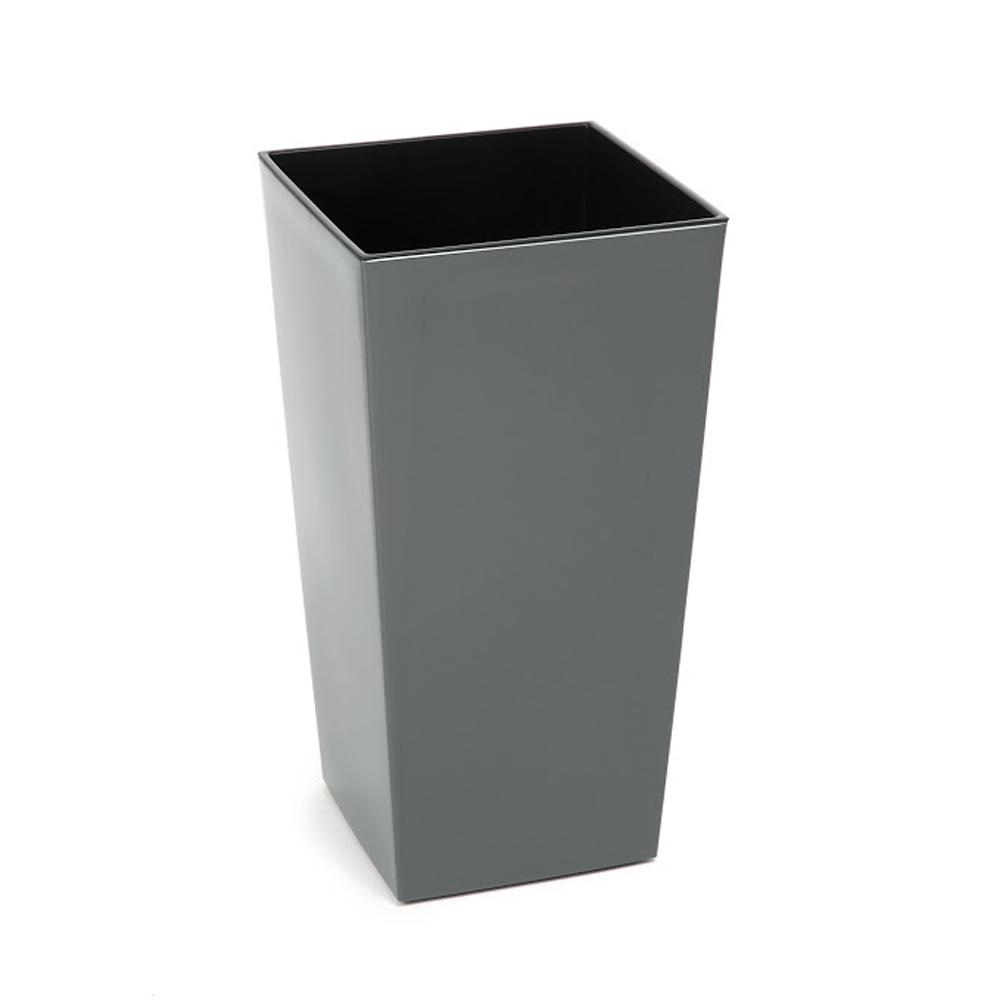 Doniczka Finezja H: 57cm Grafit Metalik