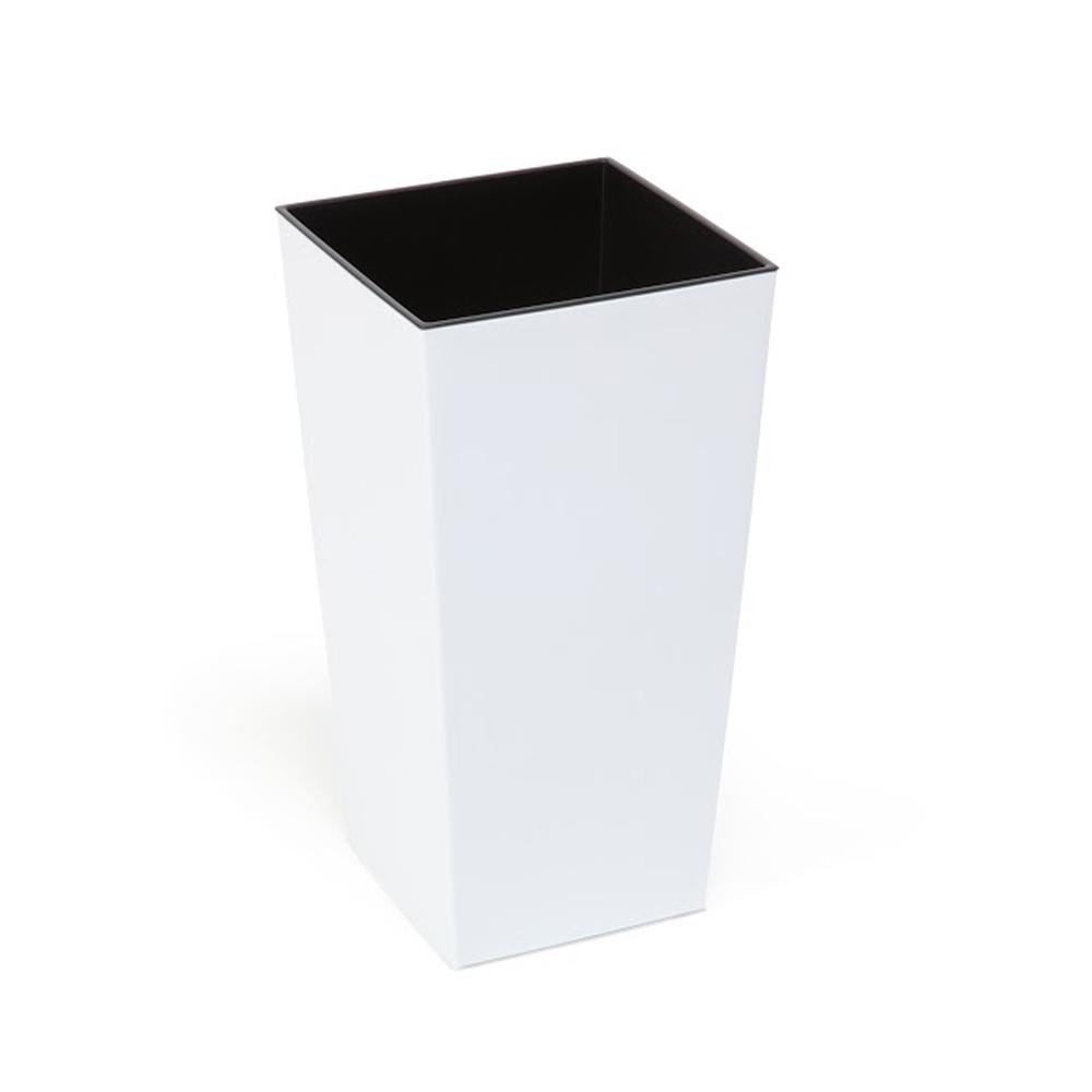 Doniczka Finezja H: 36cm Biała