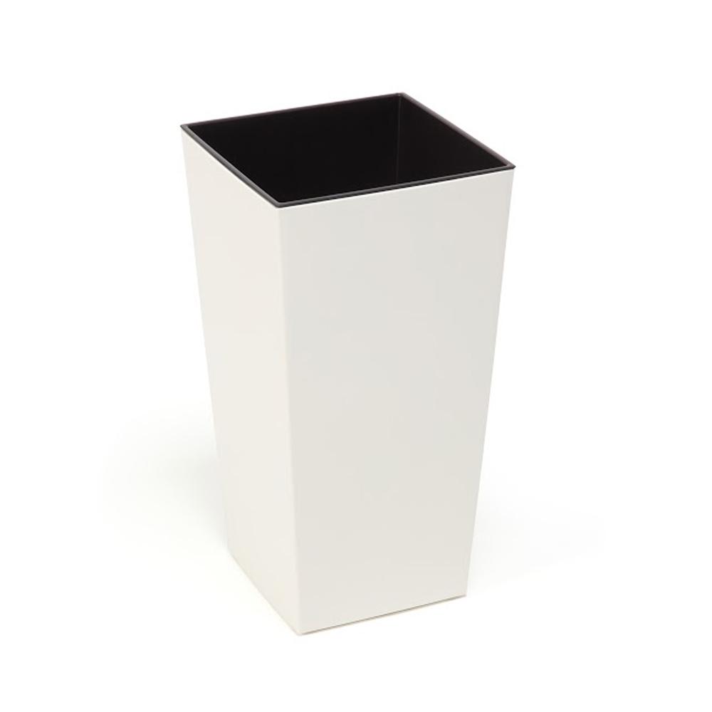 Doniczka Finezja H: 57cm Kremowa