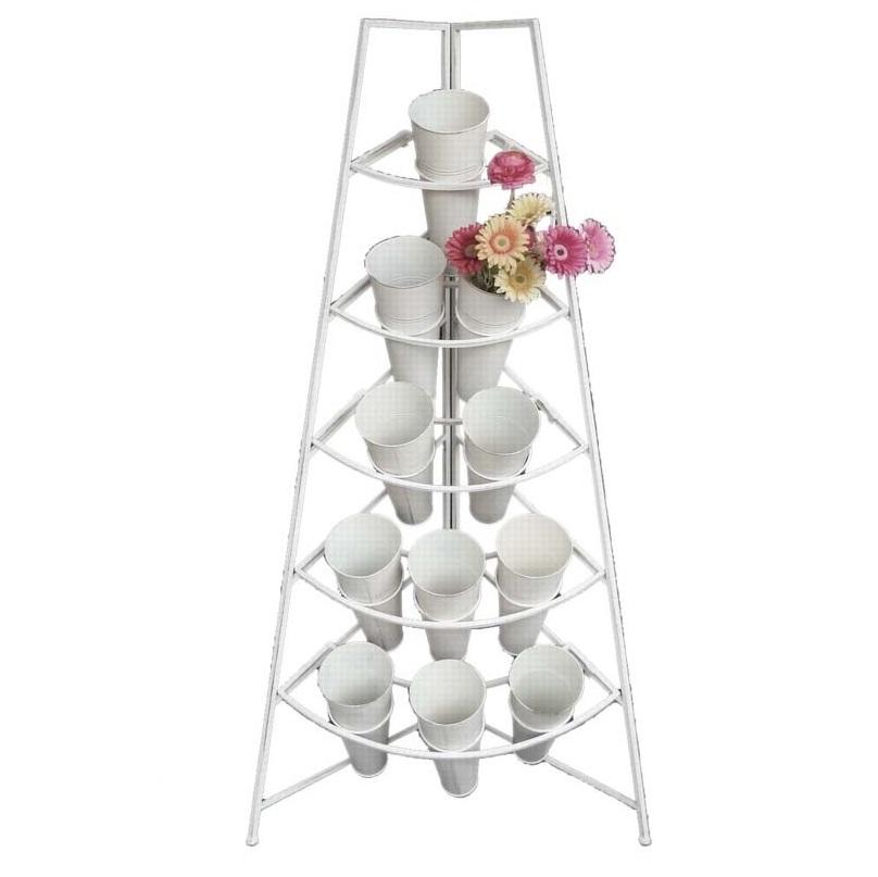 stojak do kwiaciarni 11 flakonów