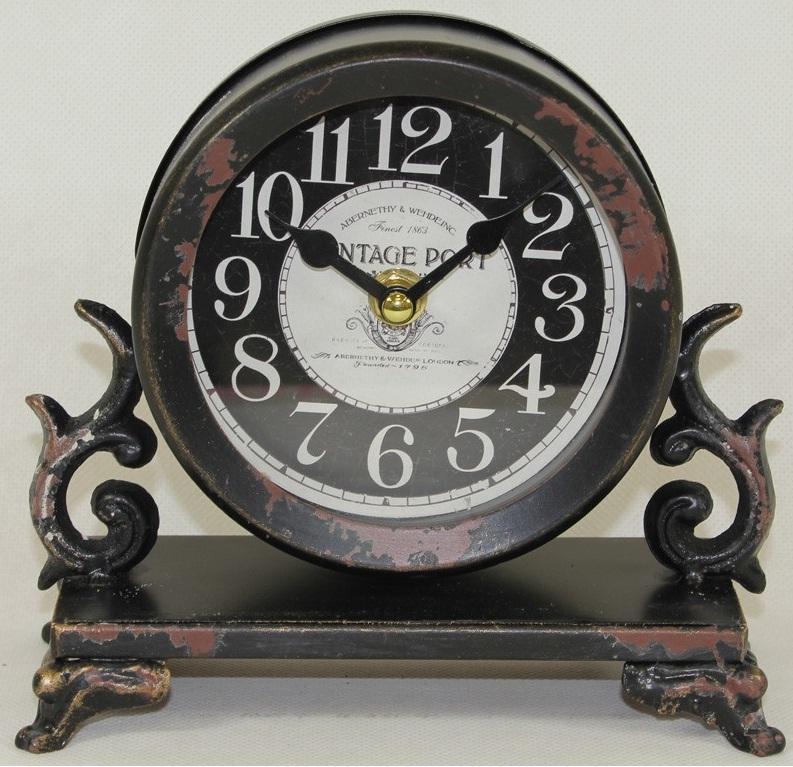 zegar kominkowy vintage port widok