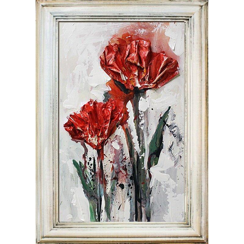 obraz kolaż olejny G94389 55cm x 38cm