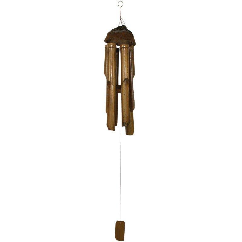 Dzwonek wietrzny z bambusa 60cm x 12cm x 12cm