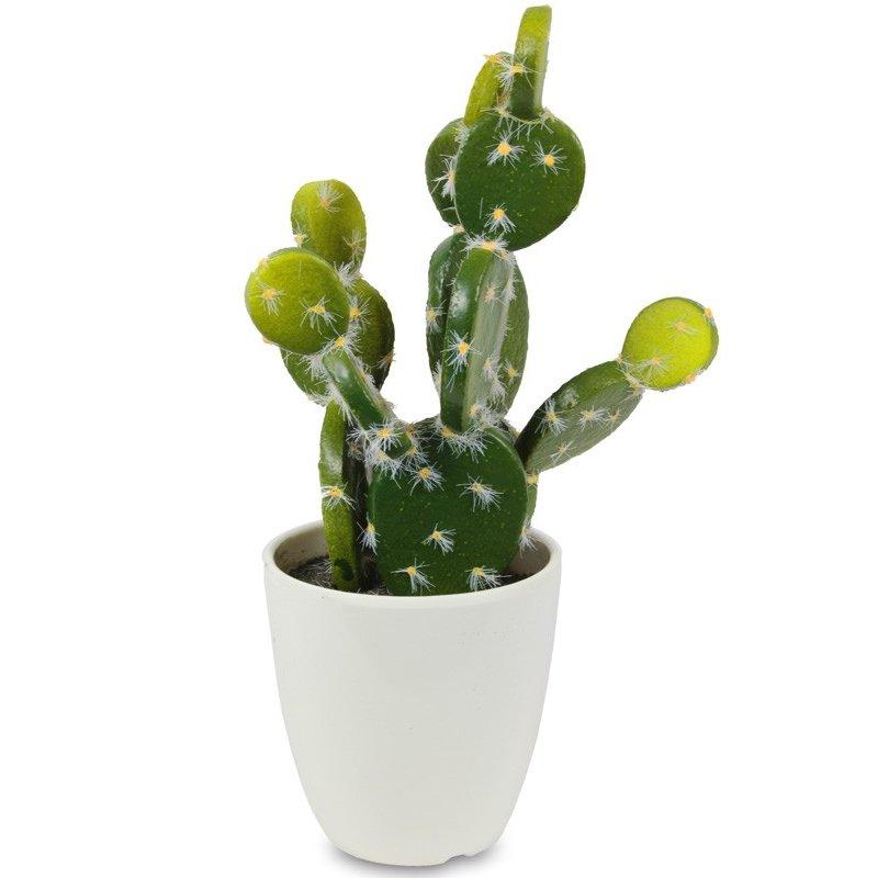 Ozdobny sztuczny kaktus 21cm x 11cm x 7,5cm