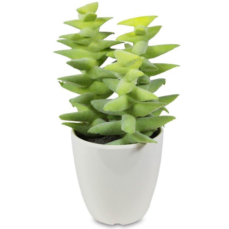 Ozdobna sztuczna roślina  17cm x 11cm x 10cm