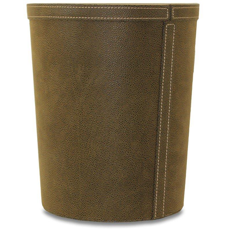 Elegancki okrągły pojemnik kosz 29,5cm x 25,5cm x 21,5cm