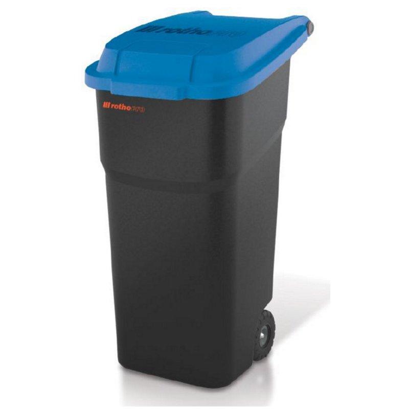 Kosz na odpady 100 L Atlas Niebieski