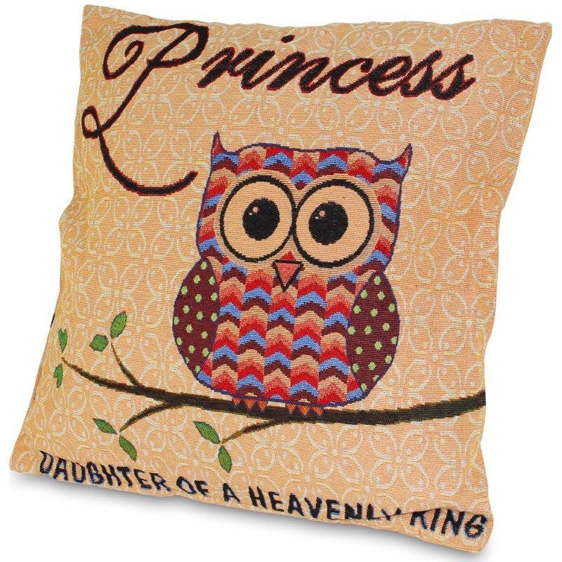 Poduszka dekoracyjna sowa Princess 46x45cm
