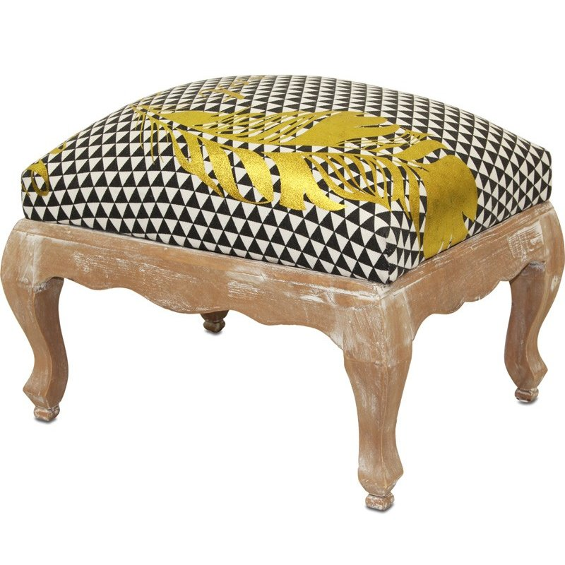 siedzisko z egzotycznego drewna