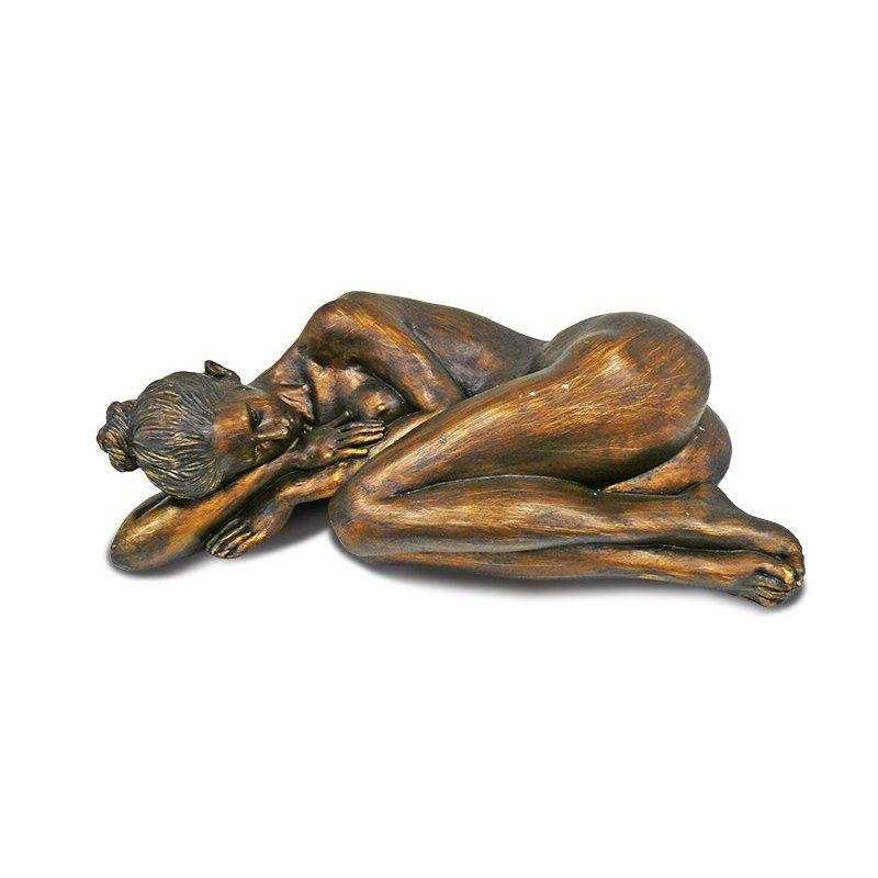 Figurka leżącej kobiety 28cm x 14cm x 10 cm