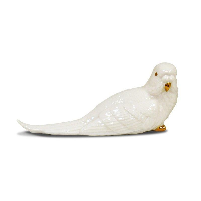 Figurka ptaszek ceramiczny 16cm x 8cm x 7cm